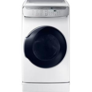 7.5 cf gas dryer w/ Multi-Steam (White)