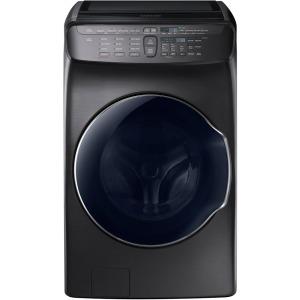 4.5 cf + 1.0 cf Flex Washer w/ Steam (Black Stainless)