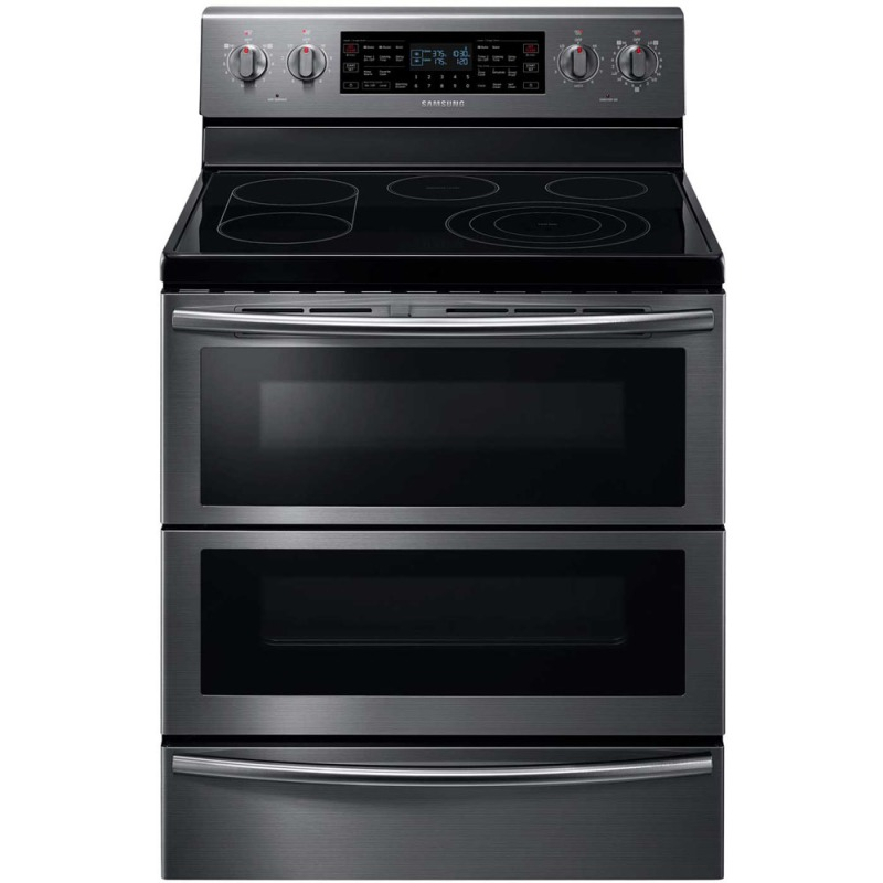 "30"" Glass Cooktop Range w/5.9 Cu.Ft., Dual Door Flex Duo"