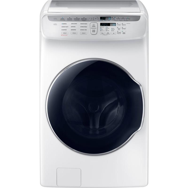 4.5 cf + 1.0 cf Flex Washer w/ Steam (White)