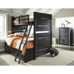 Graphite Full Bunk Bed Extension