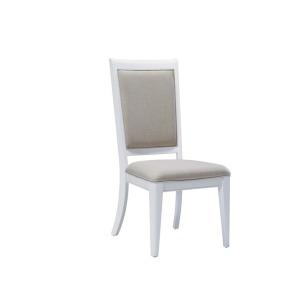 Brighton White Side Chair