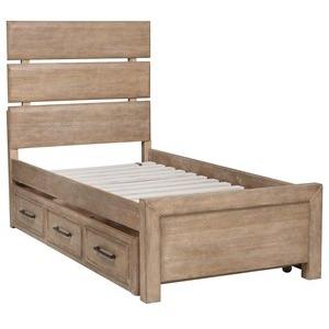 Austin Twin Storage Bed