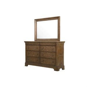 American Attitude Drawer Dresser & Mirror