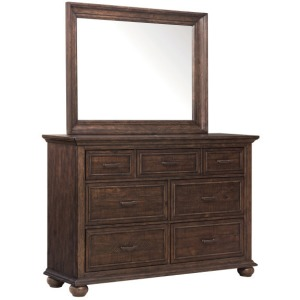 Chatham Park 7 Drawer Dresser & Mirror