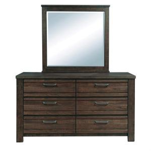 Ruff Hewn Dresser & Mirror