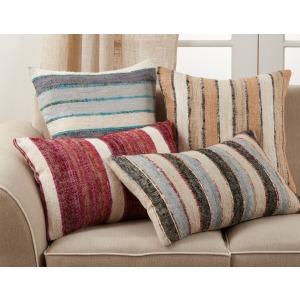 "Striped Pillow 16""x24"" Oblong - Multi"