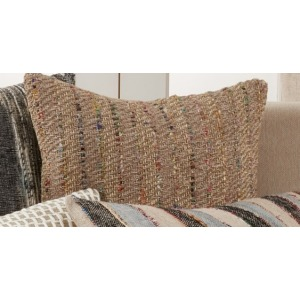 "Striped Pillow 16""x24"" Oblong - Multi"