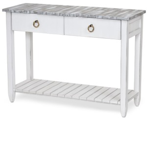 Picket Fence Console Table – Grey