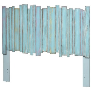 Twin Picket Fence Headboard