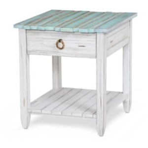 Picket Fence End Table