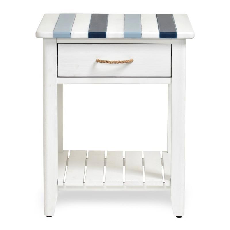 Nantucket-Coastal-Nautical-decor-living-room-end-table-navy-blue-white-and-shelf.jpg