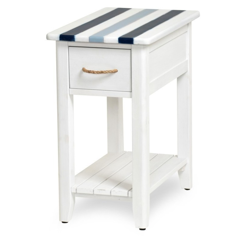 Nantucket-casual-Nautical-decor-living-room-chairside-table-navy-blue-with-rope-shlef-and-drawer.jpg