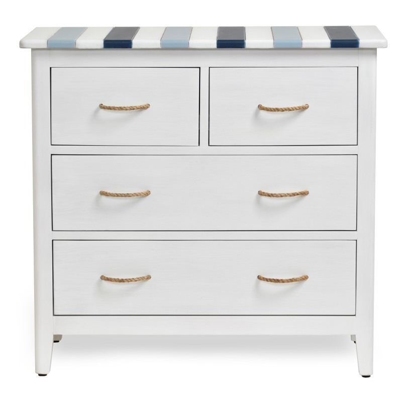 Nantucket-coastal-Nautical-decor-bedroom-chest-and-occasional-cabinet-navy-blue-white-with-rope-bull
