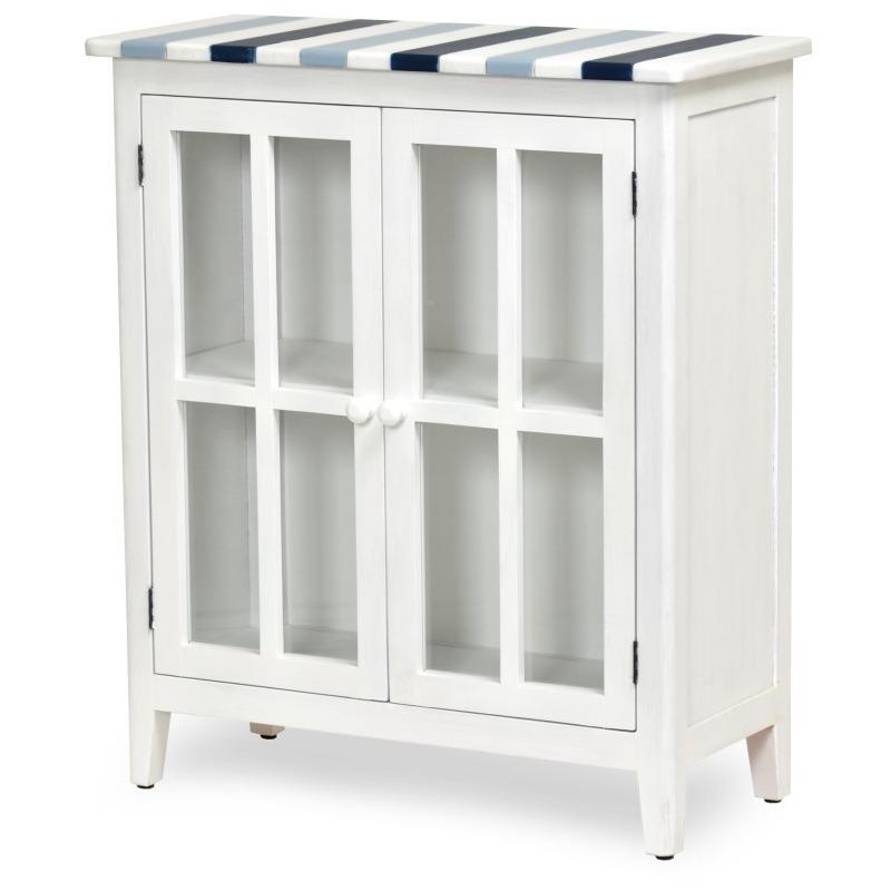 Nantucket-Coastal-Nautical-decor-living-room-entry-cabinet-navy-blue-white-and-glass-door.jpg
