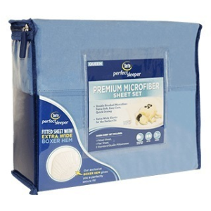 Microfiber Sheet Set - Blue