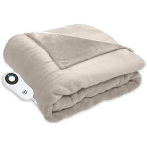 Heated Cuddler Throw with Pockets Cloud