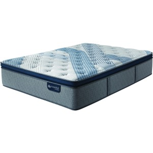 Blue Fusion 4000 Plush Pillow Top