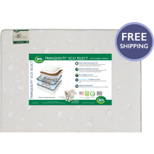 Tranquility Eco Select Crib and Toddler Mattress