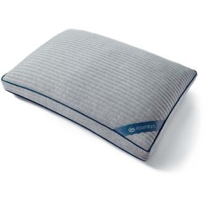 iComfort TempActiv Scrunch Pillow - Queen