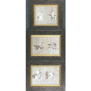 Polo Players - Set of 3