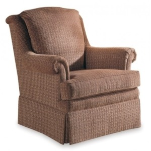Fabric Swivel Rocker