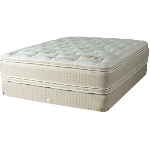 California King Van Gogh Pillowtop Mattress & Fixed Foundation