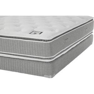 Emerald PT Mattress & Grid-Top Boxspring