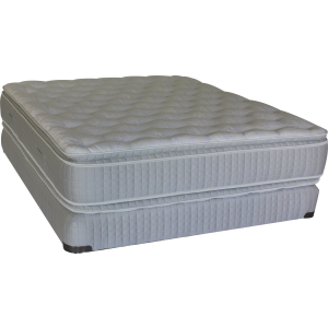 Soft Cloud Pillowtop Mattress & Fixed Foundation