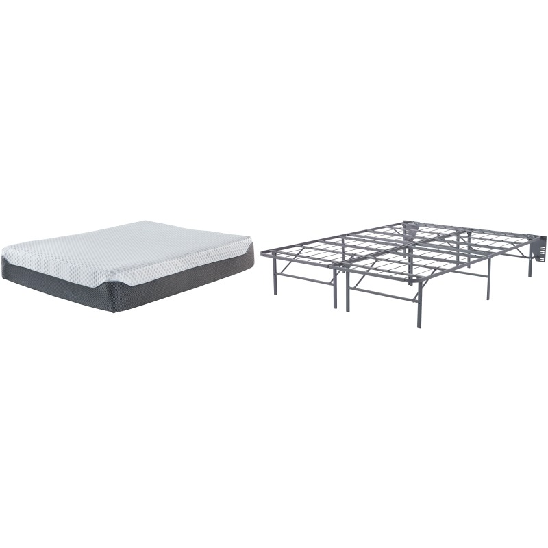 12 Inch Chime Elite Queen Foundation with Mattress