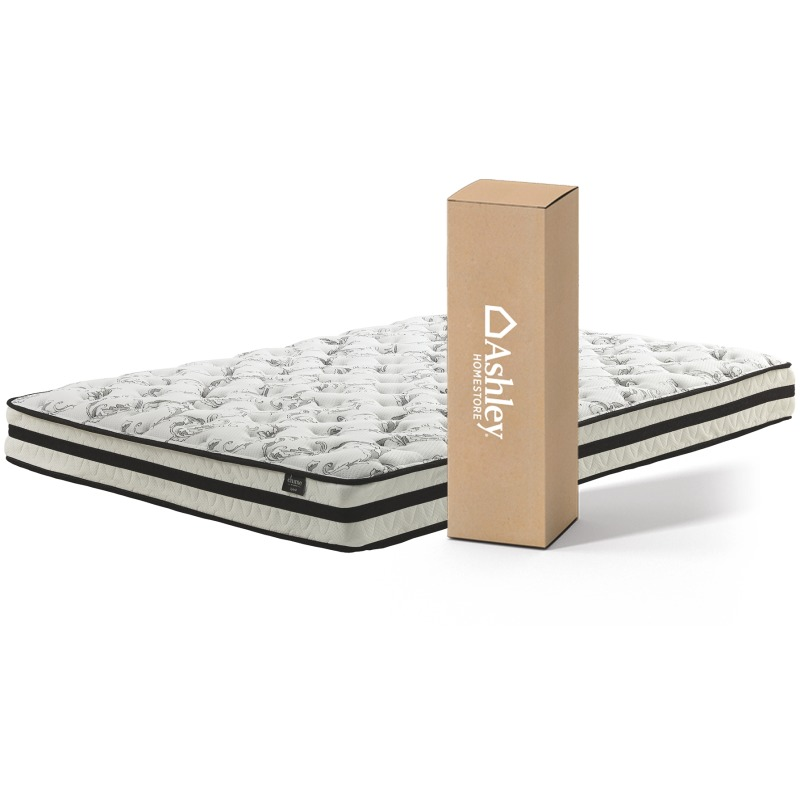 8 Inch Chime Innerspring Full Mattress in a Box