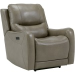 GALAHAD SANDSTONE POWER RECLINER