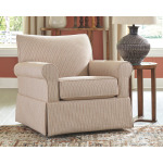 Almanza Swivel Glider Accent Chair
