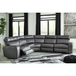 Samperstone 5-Piece Reclining Sectional with Power