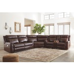 Wyline 3-Piece Reclining Sectional with Power