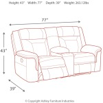 Wyline Power Reclining Loveseat with Console