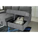 Yantis 2-Piece Sleeper Sectional with Storage
