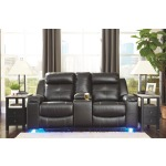 Kempten Reclining Loveseat with Console