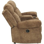 Huddle-Up Reclining Loveseat with Console