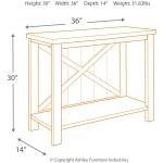 Abramsland Sofa/Console Table