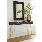 Coramont Console Table with Mirror