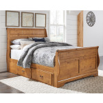 Bittersweet Queen Sleigh Bed with Storage