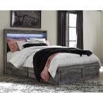 Baystorm Queen Panel Bed with 2-Storage