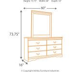 Huey Vineyard Dresser and Mirror