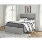 Arcella Full Panel Bed with Storage