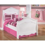 Exquisite Twin Sleigh Bed