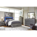 Lodanna Full Panel Bed with Storage