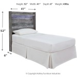 Baystorm Twin Panel Headboard