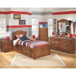 Barchan Twin Panel Headboard