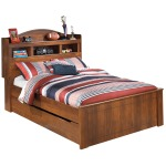 Barchan Full Bookcase Bed with Trundle